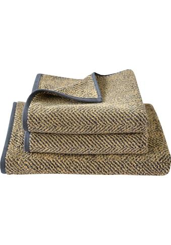 Handtuch Set, »Golden Shades Herringbone«, Dyckhoff (Set) kaufen