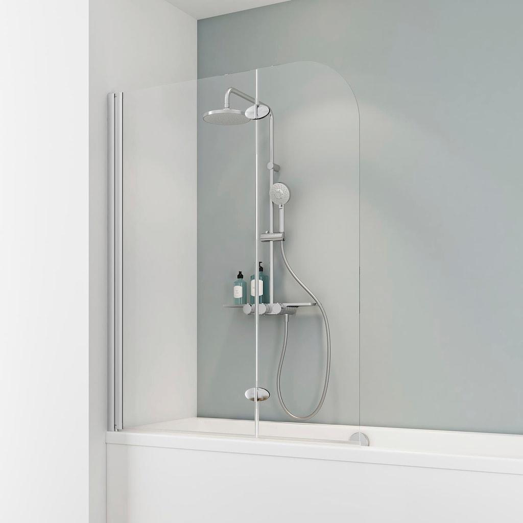 Schulte Badewannenfaltwand »Komfort«, Breite: 112 cm