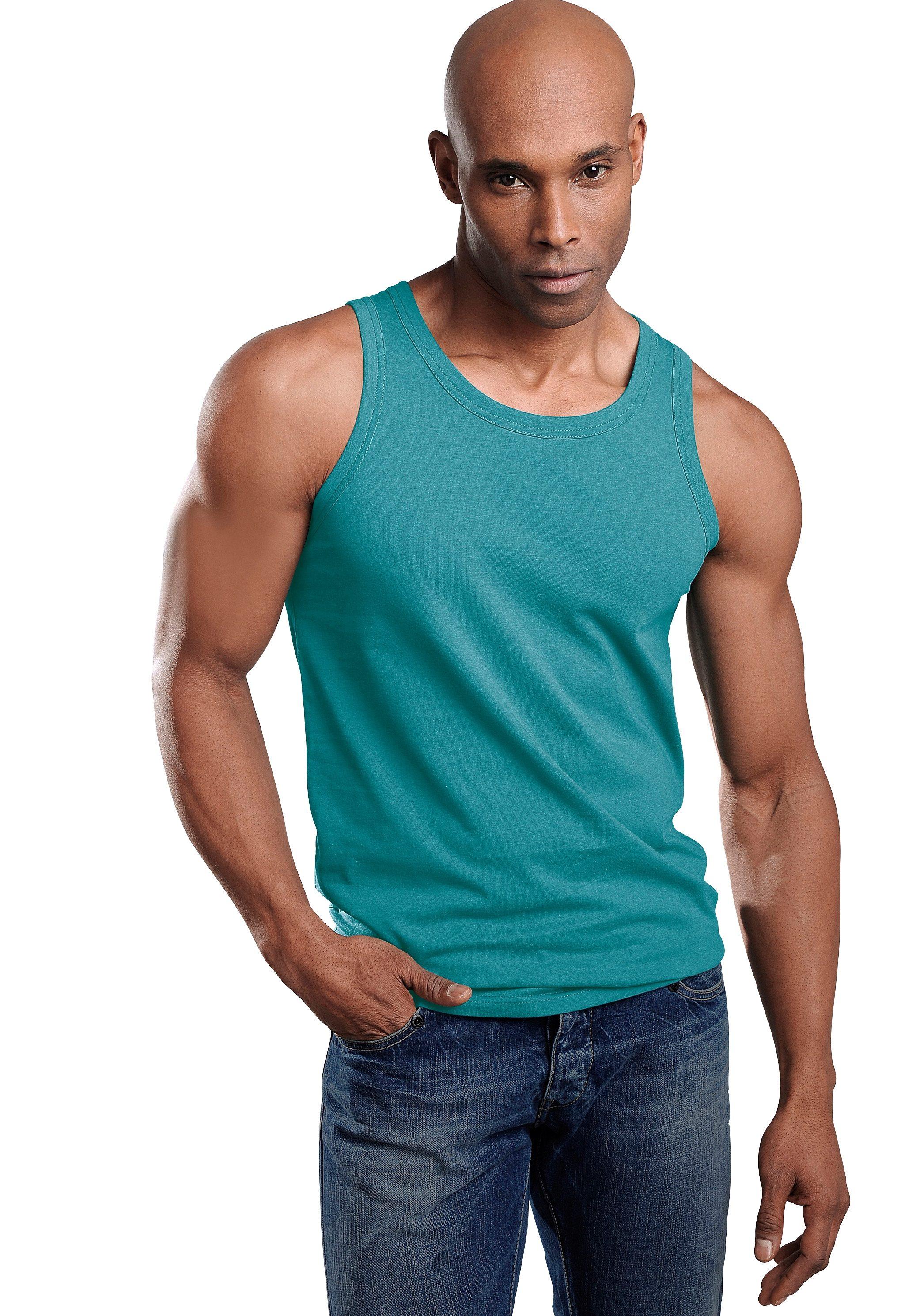 Unterhemd, 3 Stück | Bekleidung > Wäsche > Unterhemden | Bunt