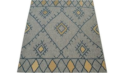 Teppich, »Kuba 124«, Paco Home, rechteckig, Höhe 5 mm, maschinell gewebt kaufen