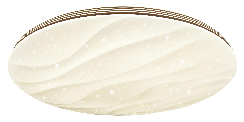 Brilliant Leuchten Alison LED Wand- und Deckenleuchte 78cm XXL weiß