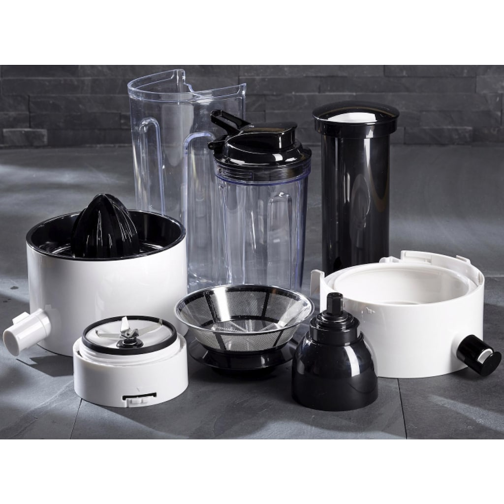 RUSSELL HOBBS Entsafter »Smoothie Maker 22700-56«, 800 W, 3-in-1-Gerät: Entsafter, Zitruspresse und Smoothie Maker