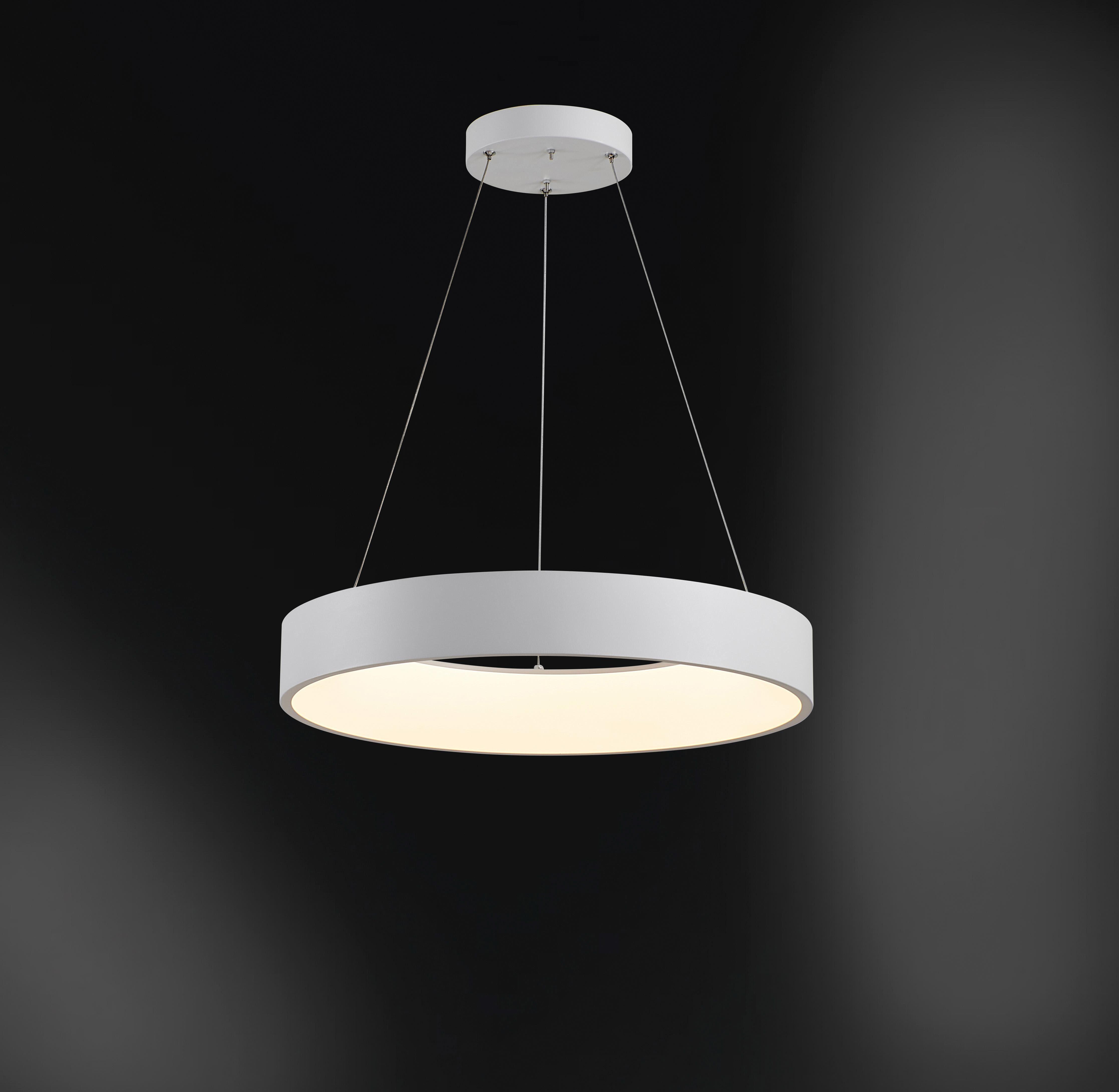 WOFI Pendelleuchte CAMERON, LED-Board, Kaltweiß, Hängeleuchte, Hängelampe