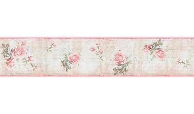 LIVINGWALLS Bordüre »Djooz Landhaus Stil«, floral, Papier kaufen