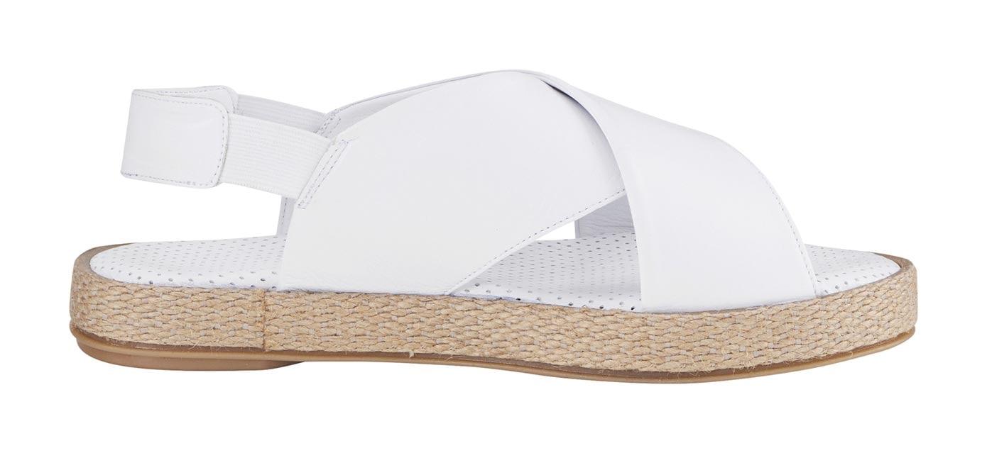 Sandalette weiß Damen Sandaletten Sandalen