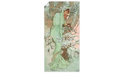 Artland Wandbild »Hiver (Winter), 1896«, Frau, (1 St.), in vielen Größen &... kaufen
