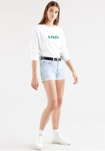 Levi's® Jeansshorts »501 Button«, Mit Knopfverschluss und krempelbarem Saum kaufen