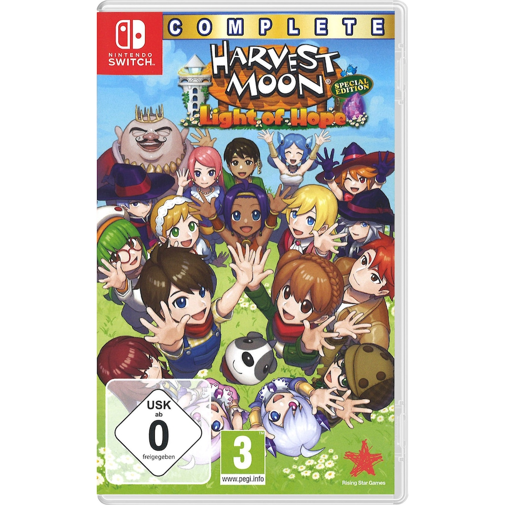 Rising Star Spiel »Harvest Moon Light of Hope (Complete Special Edition)«, Nintendo Switch