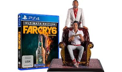 UBISOFT Spiel »Far Cry 6 Ultimate Edition + Antón & Diego Castillo Figur«, PlayStation 4 kaufen