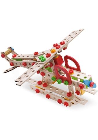 """Eichhorn Konstruktionsspielsteine """"Constructor, Hubschrauber"""", Holz Kunststoff, (225 - tlg.) kaufen"""