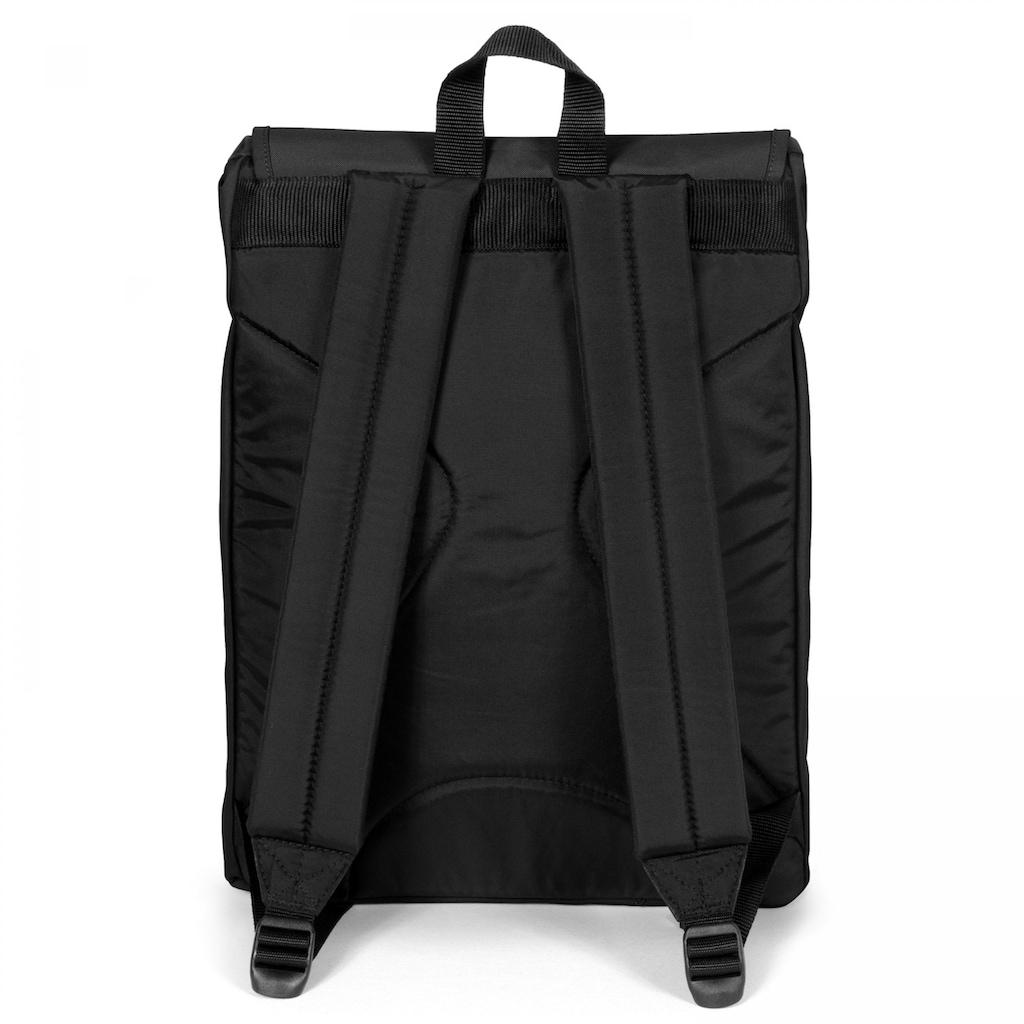 Eastpak Laptoprucksack »LONDON+, Black«, enthält recyceltes Material (Global Recycled Standard)