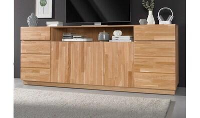 Premium collection by Home affaire Sideboard, Breite 220 cm mit 5 Türen kaufen