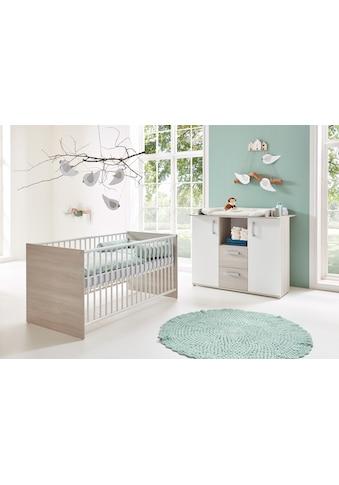 arthur berndt Babymöbel-Set »Jonas«, (Spar-Set, 2 St.), mit Kinderbett und... kaufen
