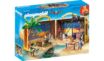 "Playmobil® Konstruktions - Spielset ""Mitnehm - Pirateninsel (70150)"", Kunststoff kaufen"