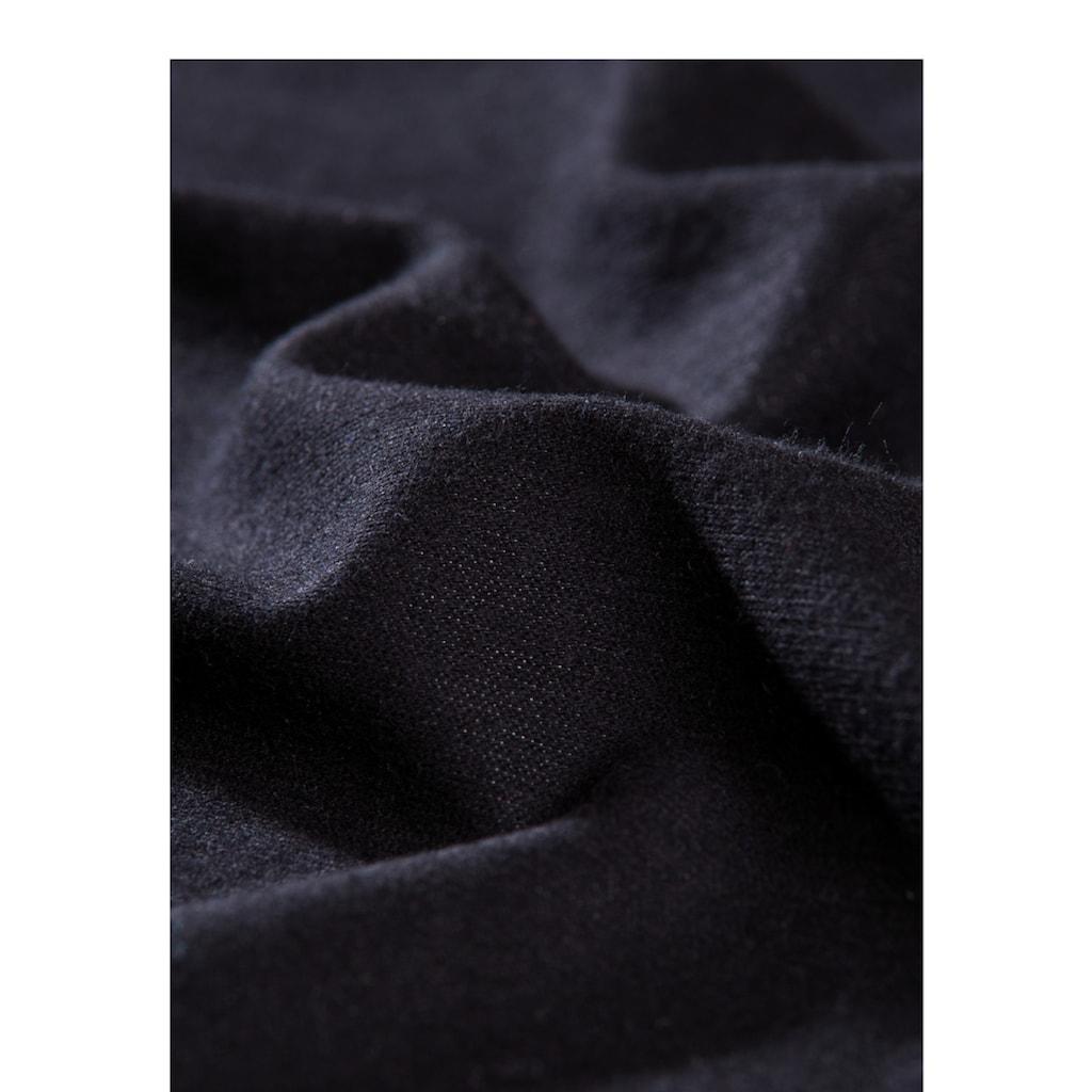 Trigema Unterhemd, mit Spitze