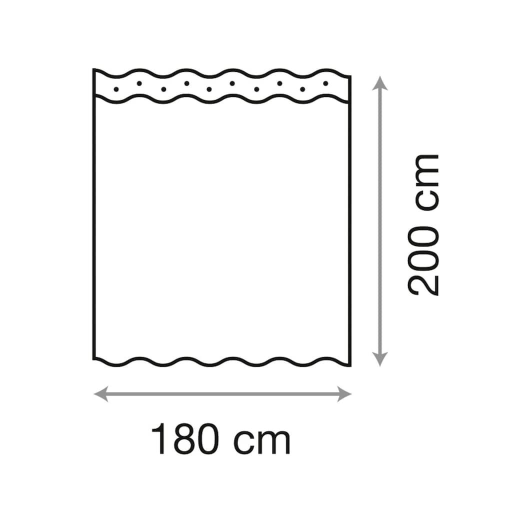 Sanilo Duschvorhang »Balance«, Breite 180 cm, Höhe 200 cm