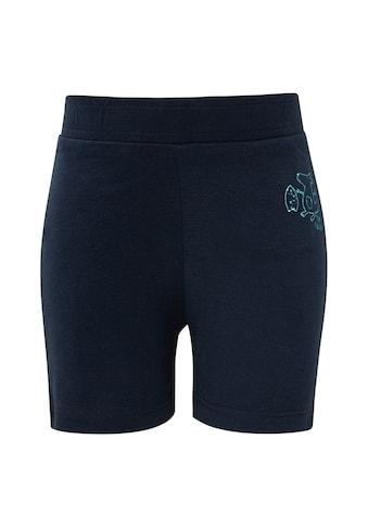 TOM TAILOR Stoffhose »Shorts mit Print« kaufen