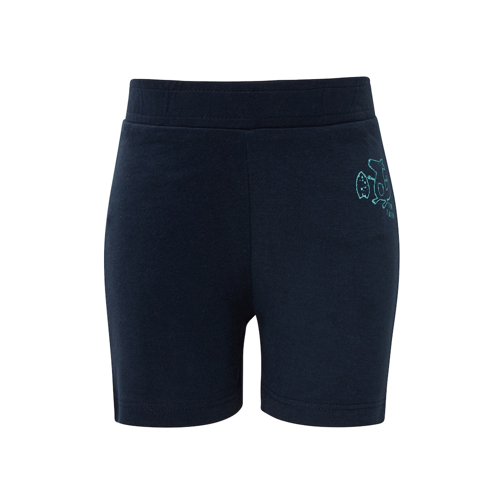 TOM TAILOR Stoffhose »Shorts mit Print«