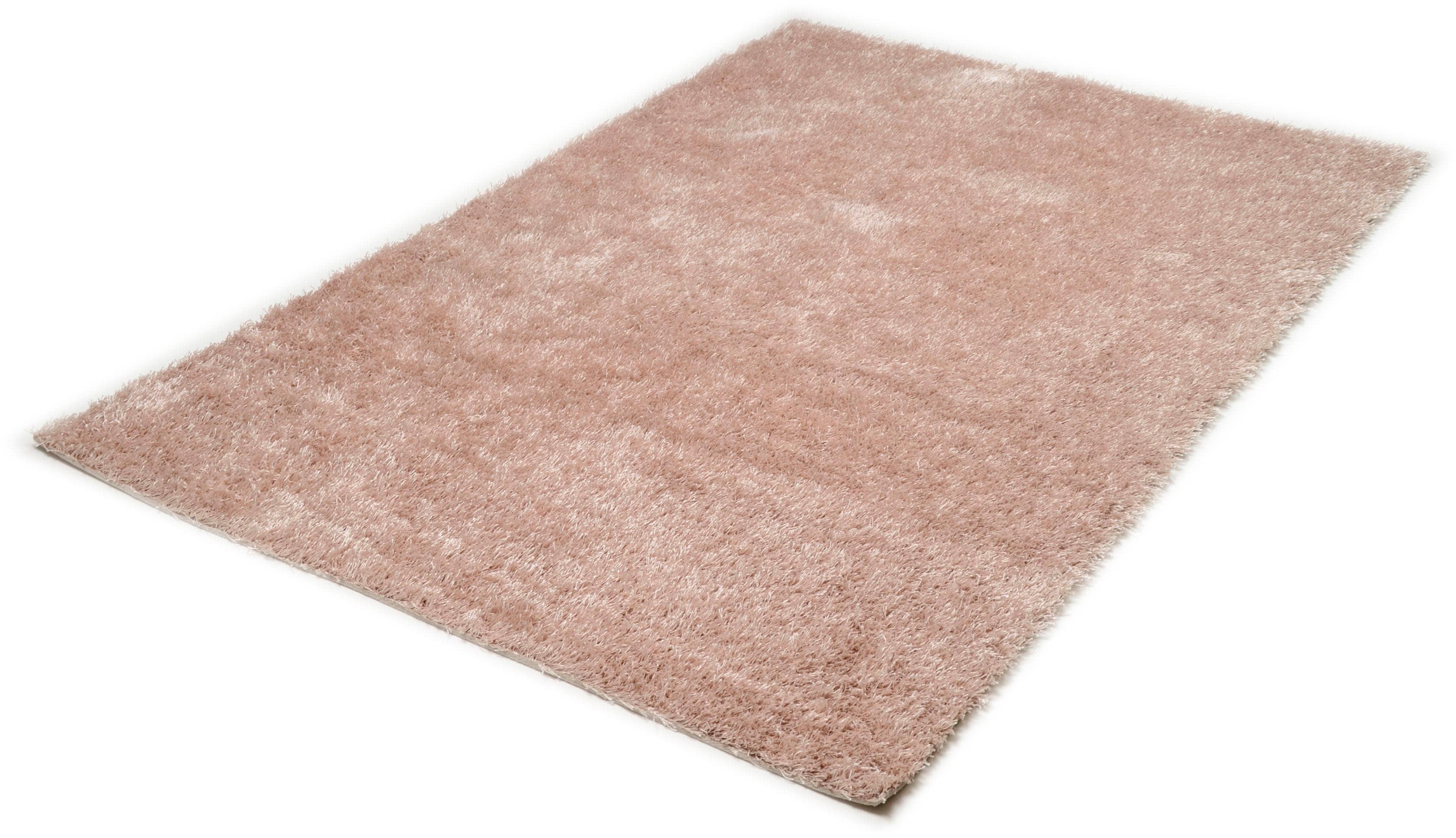 Hochflor-Teppich Tinos Super THEKO rechteckig Höhe 35 mm handgetuftet