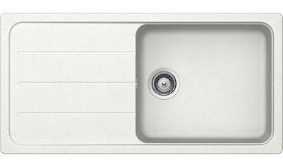 SCHOCK Granitspüle »Formhaus «, großes Becken, 100 x 50 cm kaufen