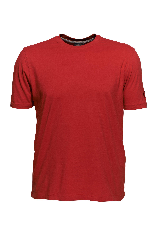 AHORN SPORTSWEAR T-Shirt mit Markenstickerei | Sportbekleidung > Sportshirts > T-Shirts | Rot | Polyester