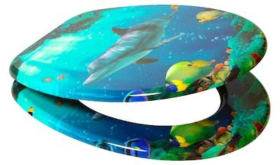 SANILO WC - Sitz »Delphin«, mit Absenkautomatik kaufen