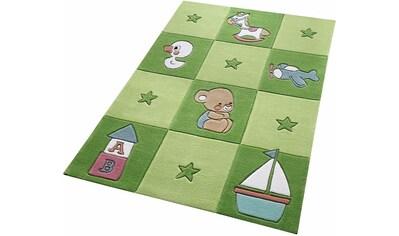 SMART KIDS Kinderteppich »Newborn«, rechteckig, 10 mm Höhe, Baby Design, Kurzflor kaufen