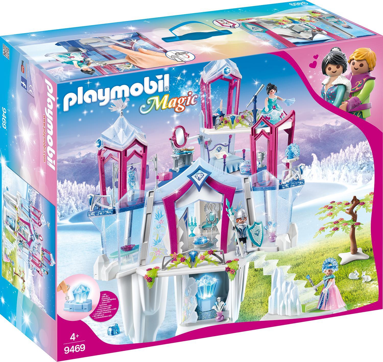 Playmobil Konstruktions-Spielset Funkelnder Kristallpalast (9469), Magic, Kunststoff weiß Kinder Ab 3-5 Jahren Altersempfehlung Spielbausteine