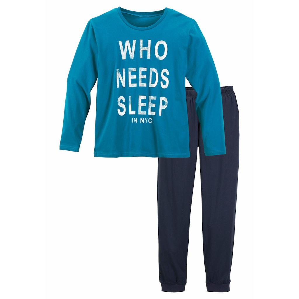 Pyjama, mit witzigem Spruch