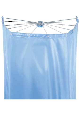 spirella Duschschirm »Ombrella«, Breite 170 cm, (Set), mit 12 Ösen, white, 200x170 cm; Duschspinne und Vorhang kaufen