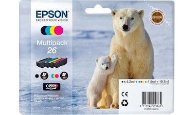 Epson »Multipack, C13T26164010  -  26  - « Tintenpatrone kaufen