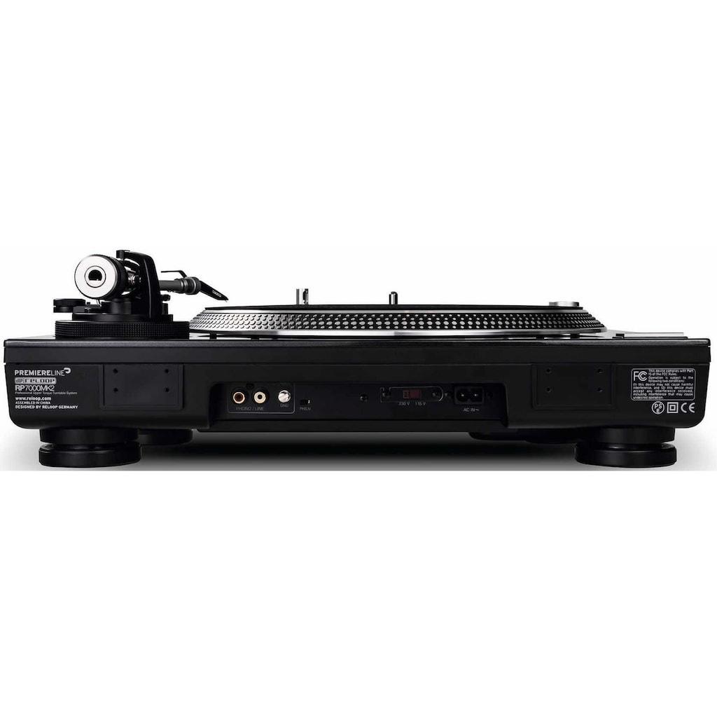 Reloop® Plattenspieler »RP - 7000 MK2 black«