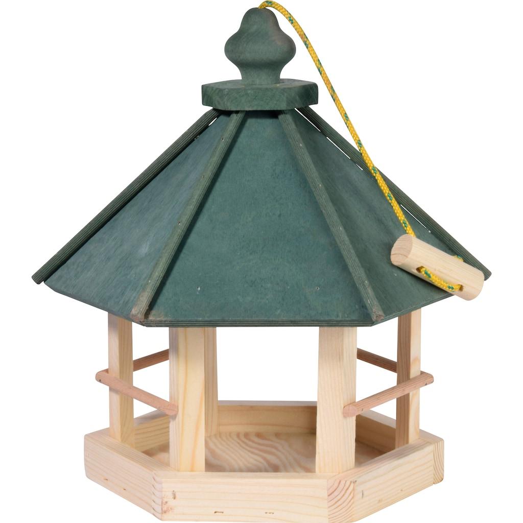 dobar green label Vogelhaus »Klassisch 6-eck«, BxTxH: 29x32x36 cm, Kiefer