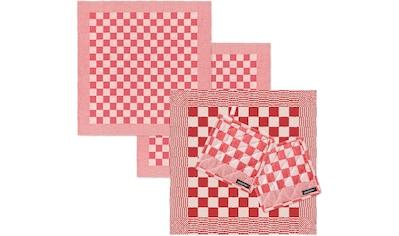 DDDDD Geschirrtuch »Barbeque«, (Set, Combi-Set: bestehend aus 1x Küchentuch, 2x... kaufen