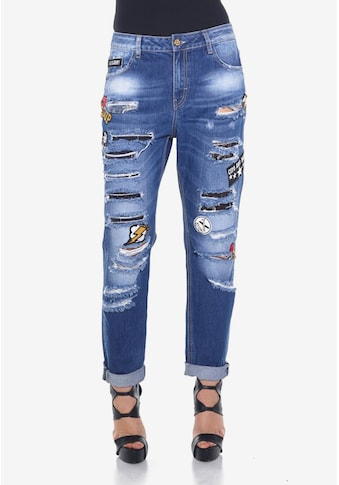 Cipo & Baxx Bequeme Jeans »Ripped« kaufen