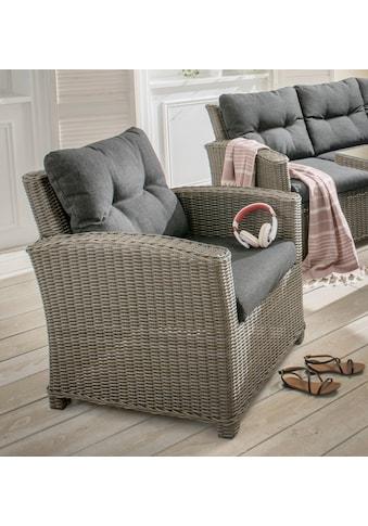 DESTINY Sessel »Riviera«, Polyrattan, inkl. Auflage kaufen