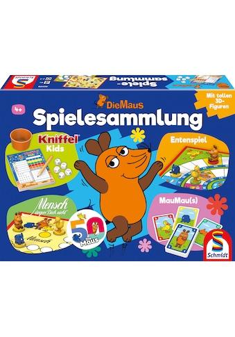 Schmidt Spiele Spielesammlung »Die Maus«, mit 12 original 3D - Figuren kaufen
