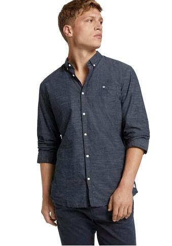 TOM TAILOR Denim Kurzarmhemd, mit Strukturmuster kaufen