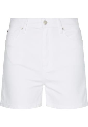 Tommy Hilfiger Shorts »Rome Straight HW White Short«, im Five-Pocket-Style kaufen
