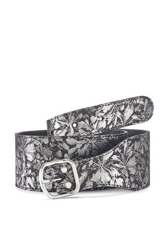 LASCANA Taillengürtel, aus Leder mit Geheimfach mit Reißverschluss kaufen