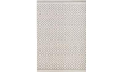 Teppich, »Raute«, bougari, rechteckig, Höhe 8 mm, maschinell gewebt kaufen