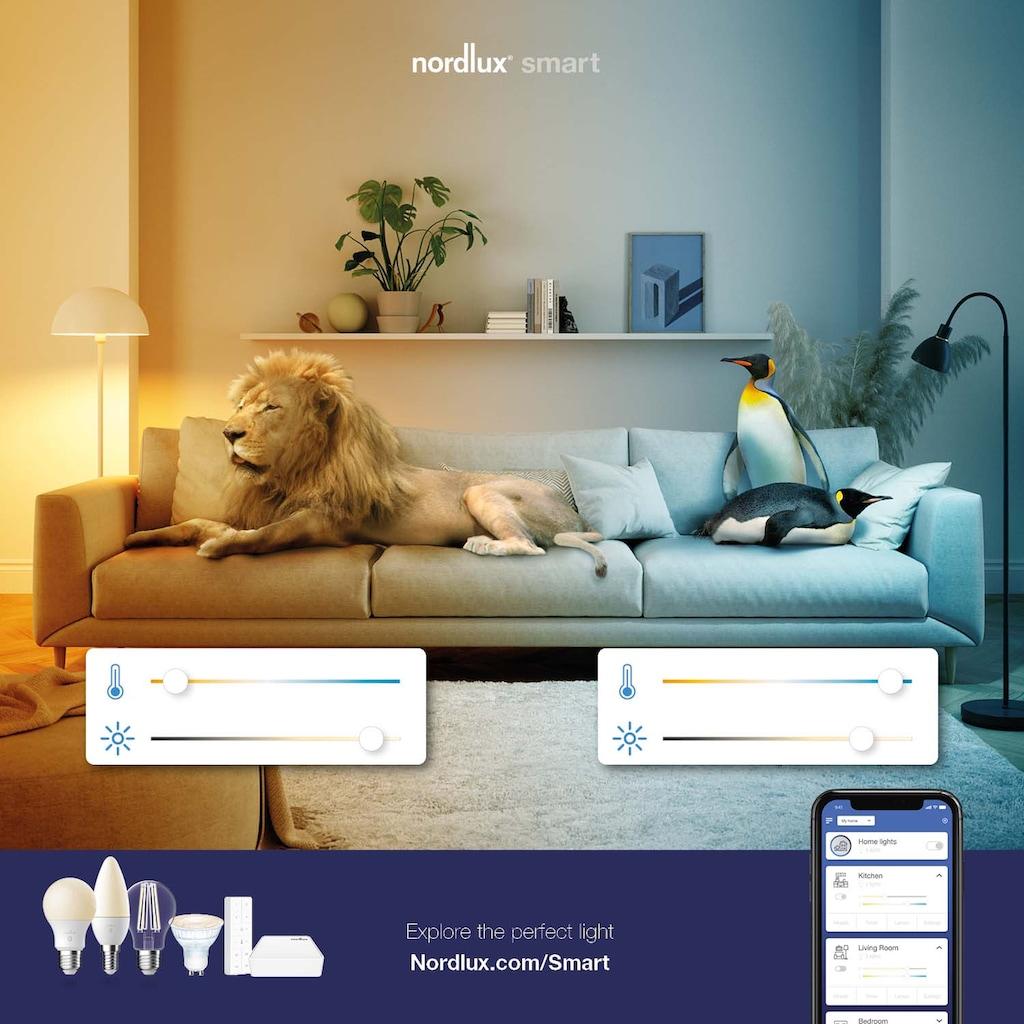 Nordlux Smarte LED-Leuchte »Carina Smartlight«, GU10, Farbwechsler, Nordlux Smart Light, Leuchtmittel enthalten und wechselbar, 3er Set, einfache Montage