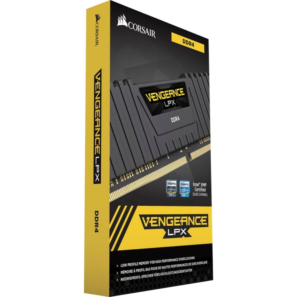 Corsair PC-Arbeitsspeicher »VENGEANCE® LPX 32 GB (4 x 8 GB) DDR4 DRAM 2666 MHz C16«