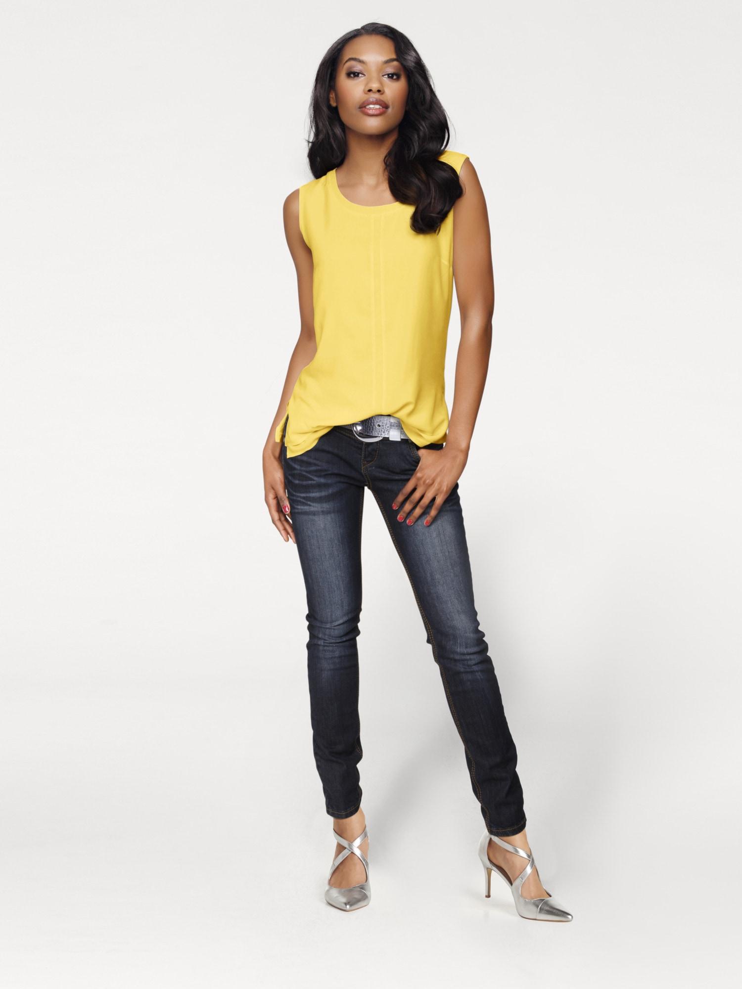 heine TIMELESS Shirttop Viskose   Bekleidung > Tops > 2-in-1-Tops   Linea Tesini By Heine