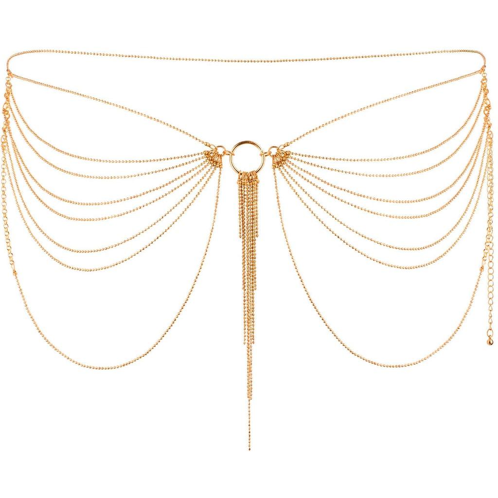 Bijoux Indiscrets Erotik-Taillenkette »Magnifique Waist Chain«, goldener Körperschmuck
