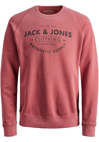 Jack & Jones Junior Sweatshirt »JJEJEANS WASHED SWEAT CR« kaufen