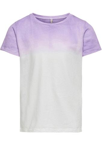 KIDS ONLY T-Shirt »KONBLAKE«, mit modischem Farbverlauf kaufen