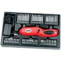 Brueder Mannesmann Werkzeuge Werkzeugbox »155-tlg.«