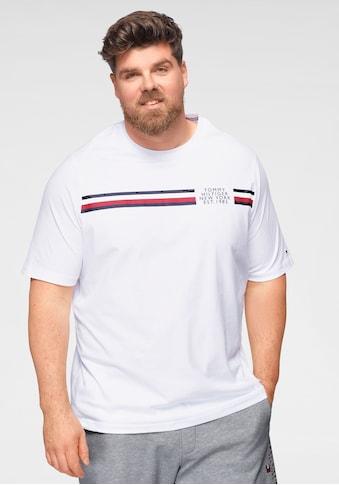 Tommy Hilfiger Big & Tall T-Shirt »BT-CORP SPLIT TEE-B« kaufen