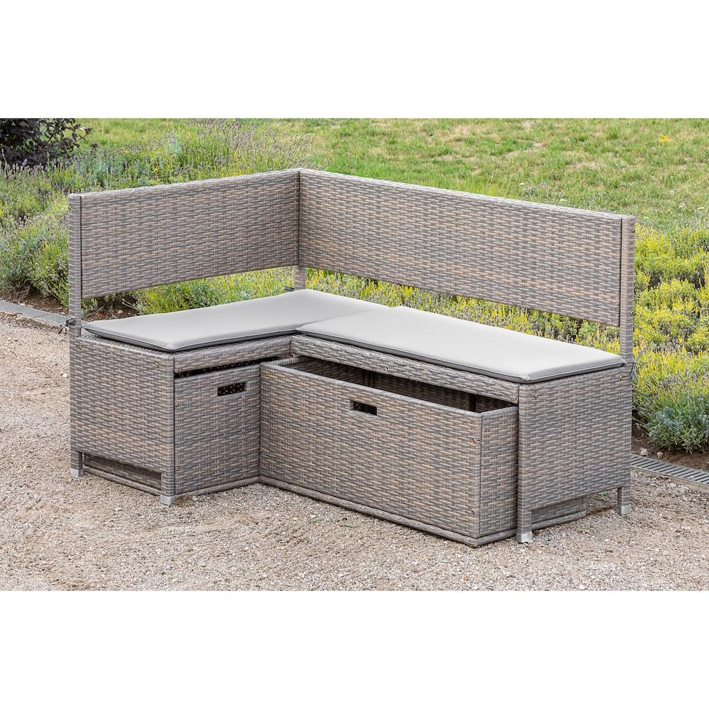 MERXX Kissenbox »Unterschiebbox groß«, Stahl/Kunststoff